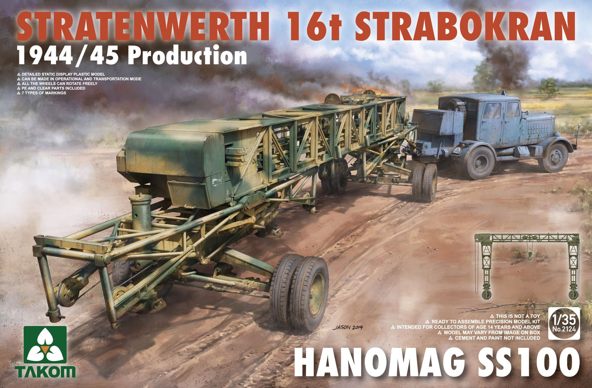 53279060_929811120560771_2183466557588373504_o Fries Kran 16t Strabokran 1943/1944 Production 1:35 Takom (#2109)