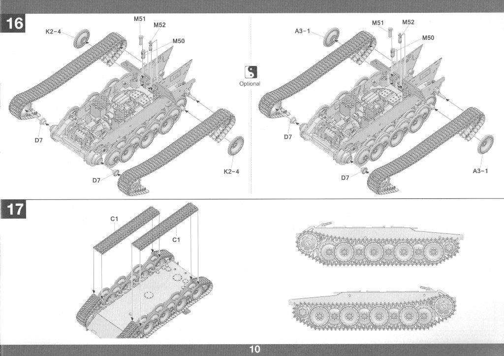 Anleitung11-1-1024x723 Panther Ausf. D Late Prod. Sd. Kfz. 171 w. Zimmerit Full Interior 1:35 Takom #2104
