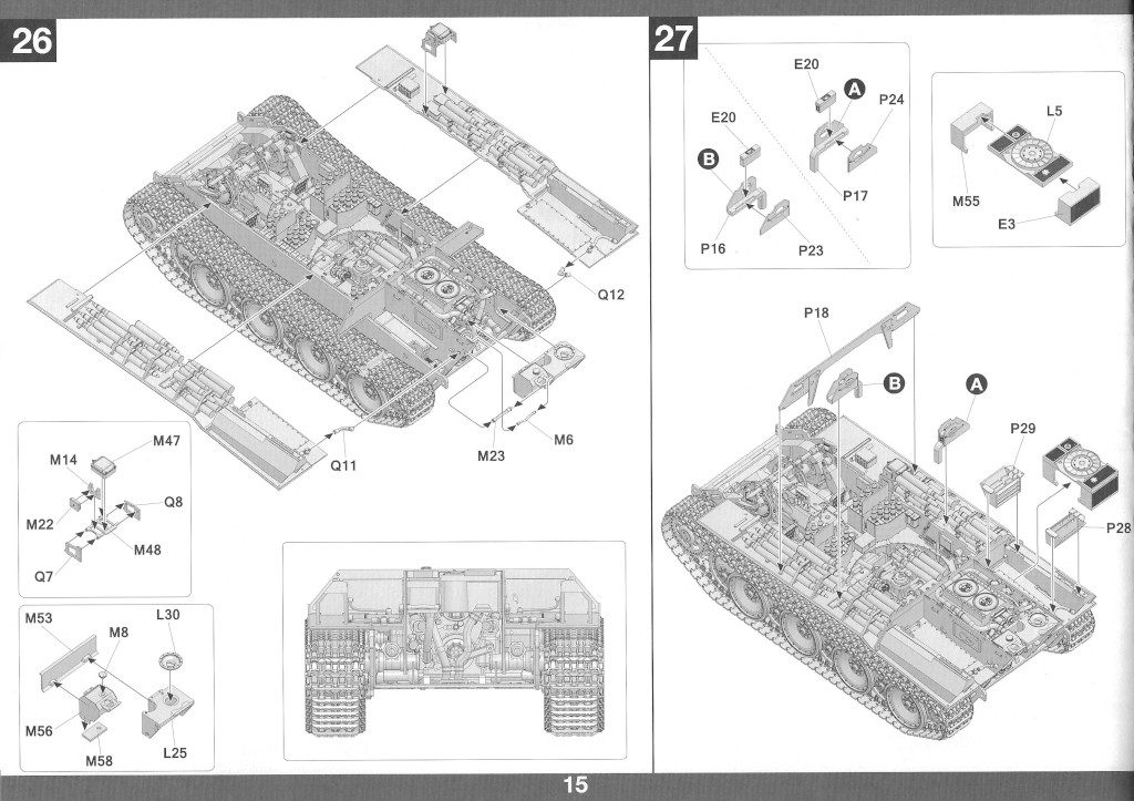 Anleitung16-1-1024x723 Panther Ausf. D Late Prod. Sd. Kfz. 171 w. Zimmerit Full Interior 1:35 Takom #2104