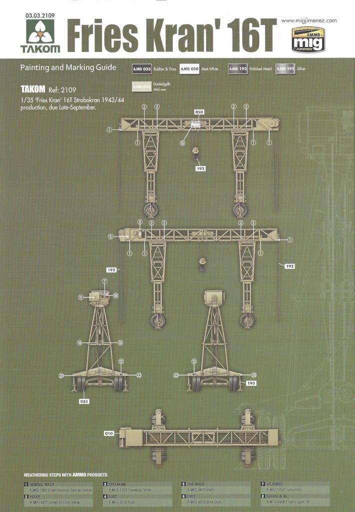 Anleitung17 Fries Kran 16t Strabokran 1943/1944 Production 1:35 Takom (#2109)