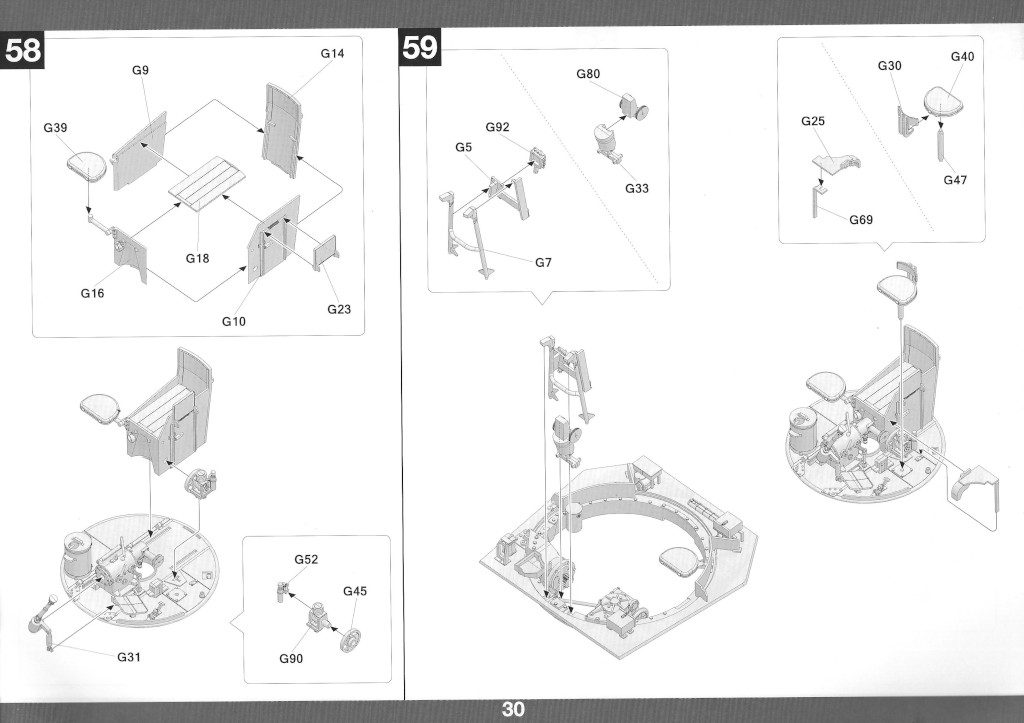 Anleitung31-1024x723 Panther Ausf. D Late Prod. Sd. Kfz. 171 w. Zimmerit Full Interior 1:35 Takom #2104