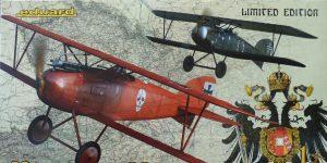 Albatros D. III Oeffag Viribus Unitis in 1:48 von Eduard # 11124