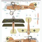 Eduard-11124-Viribus-Unitis-Markierungen1-150x150 Albatros D. III Oeffag Viribus Unitis in 1:48 von Eduard # 11124
