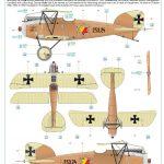 Eduard-11124-Viribus-Unitis-Markierungen7-150x150 Albatros D. III Oeffag Viribus Unitis in 1:48 von Eduard # 11124