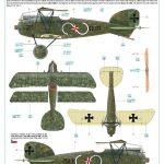 Eduard-11124-Viribus-Unitis-Markierungen8-150x150 Albatros D. III Oeffag Viribus Unitis in 1:48 von Eduard # 11124