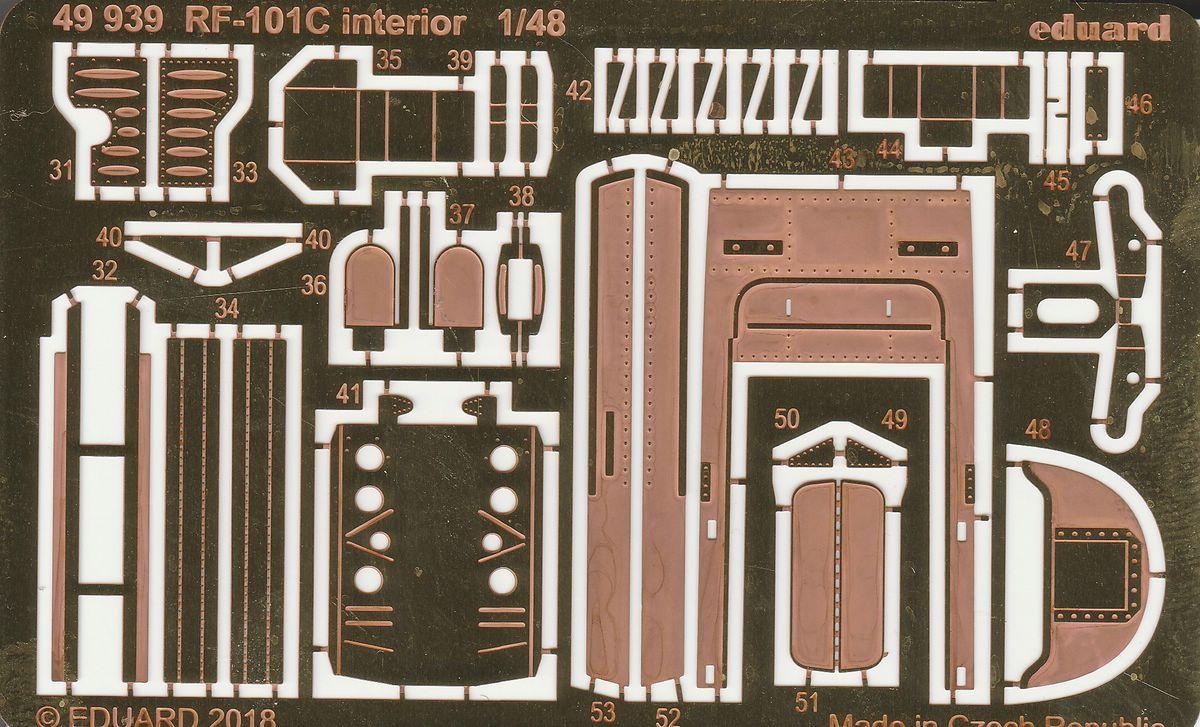 Eduard-49939-RF-101-Voodoo-Interior-2 Zubehör für die RF 101 Voodoo von Kitty Hawk 1:48 von EDUARD