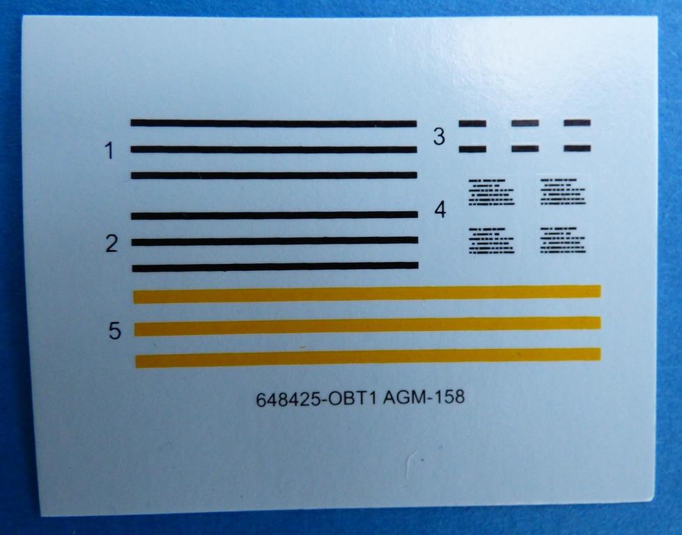 Eduard-648425-AGM-158-9 AGM-158 im Maßstab 1:48 von EDUARD BRASSIN 648425