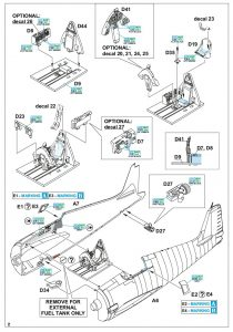 Eduard-7450-F6F-5-Hellcat-WEEKEND-Bauanleitung1-210x300 Eduard 7450 F6F-5 Hellcat WEEKEND Bauanleitung1
