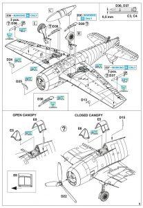 Eduard-7450-F6F-5-Hellcat-WEEKEND-Bauanleitung4-207x300 Eduard 7450 F6F-5 Hellcat WEEKEND Bauanleitung4