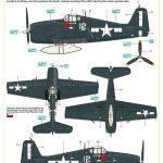 Eduard-7450-F6F-5-Hellcat-WEEKEND-Bauanleitung5-150x150 F-6F Hellcat in 1:72 von Eduard # 7450