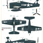 Eduard-7450-F6F-5-Hellcat-WEEKEND-Bauanleitung6-150x150 F-6F Hellcat in 1:72 von Eduard # 7450