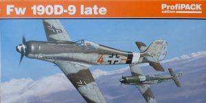 FW 190 D-9 Late im Maßstab 1:48 Eduard 8189