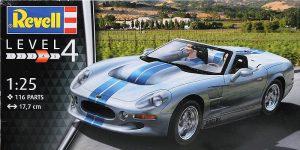 Shelby Series 1 im Maßstab 1:25 von Revell # 07039