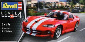 Dodge Viper GTS im Maßstab 1:24 von Revell 07040