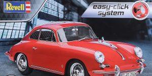 "Porsche 356 B Coupe im Maßstab 1:16 als ""easy click""-Bausatz Revell 07679"