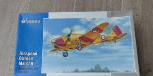 "Airspeed Oxford in 1:48 von Special Hobby ( 48104 ""Commonwealth Service"" und # 48159 ""Foreign Service"" )"