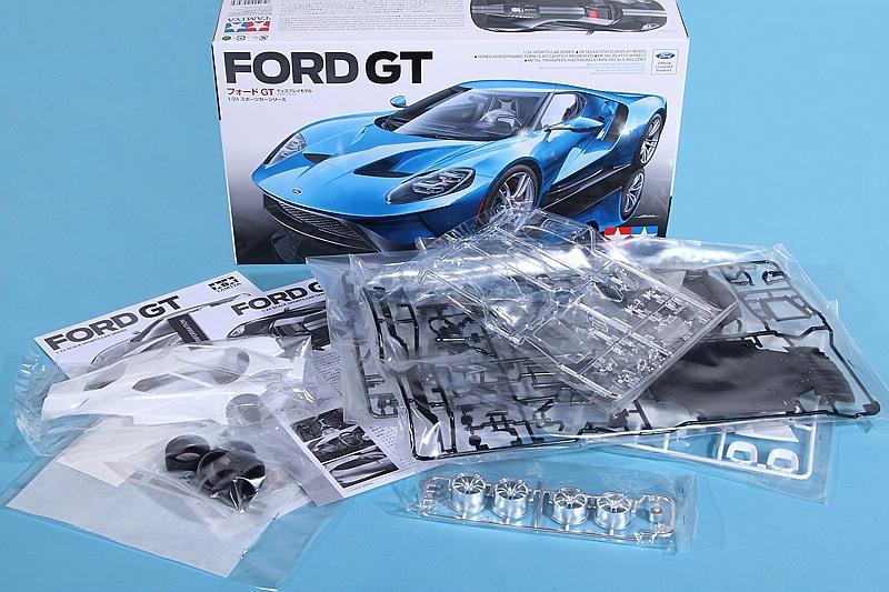Tamiya-24346-Ford-GT-8 Ford GT im Maßstab 1:24 von Tamiya # 24346