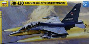 Jakowlew Jak-130 ( Yak-130 ) in 1:48 von ZVEZDA # 4821