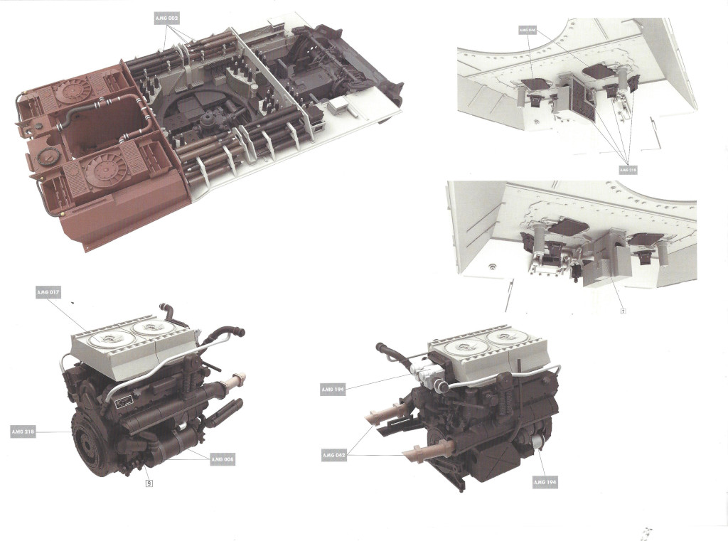 02 Panther Ausf. D Late Prod. Sd. Kfz. 171 w. Zimmerit Full Interior 1:35 Takom #2104