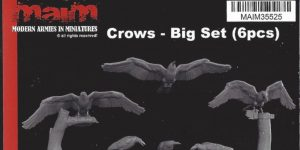Crows – Big Set (6Stück) 1:35 MAIM #35525