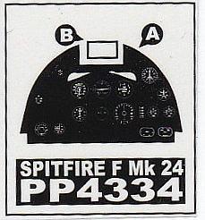 AIRES-4334-Spitfire-F.-Mk.-24-Cockpit-Set-3 Cockpit Set für die Spitfire Mk. 24 von AIRES # 4334