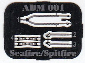 AZ-Model-7353-Spitfire-Mk.-22-2 Spitfire Mk. 22 im Maßstab 1:72 von AZ model # 7353