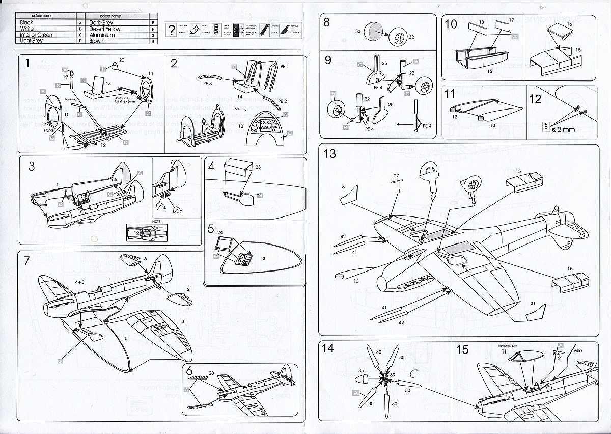 AZ-Model-7353-Spitfire-Mk.-22-4 Spitfire Mk. 22 im Maßstab 1:72 von AZ model # 7353