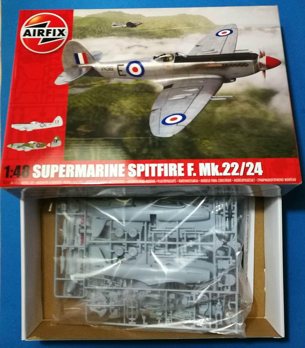 Airfix-A06101A-Spitfire-F.-Mk.-22-und-24-13 Spitfire F. Mk. 22/24 in 1.48 von Airfix A06101A