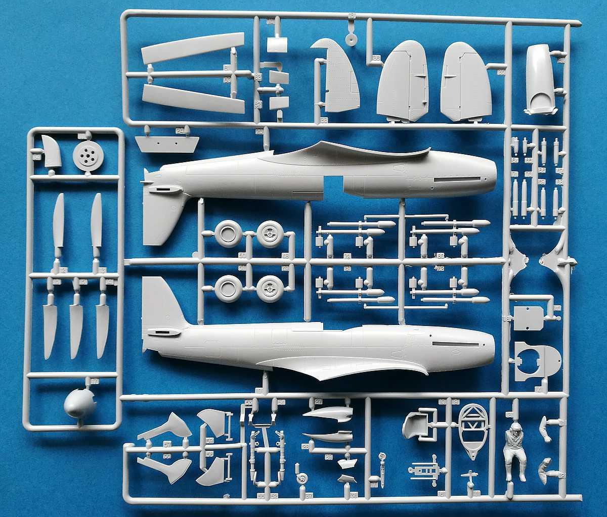Airfix-A06101A-Spitfire-F.-Mk.-22-und-24-19 Spitfire F. Mk. 22/24 in 1.48 von Airfix A06101A