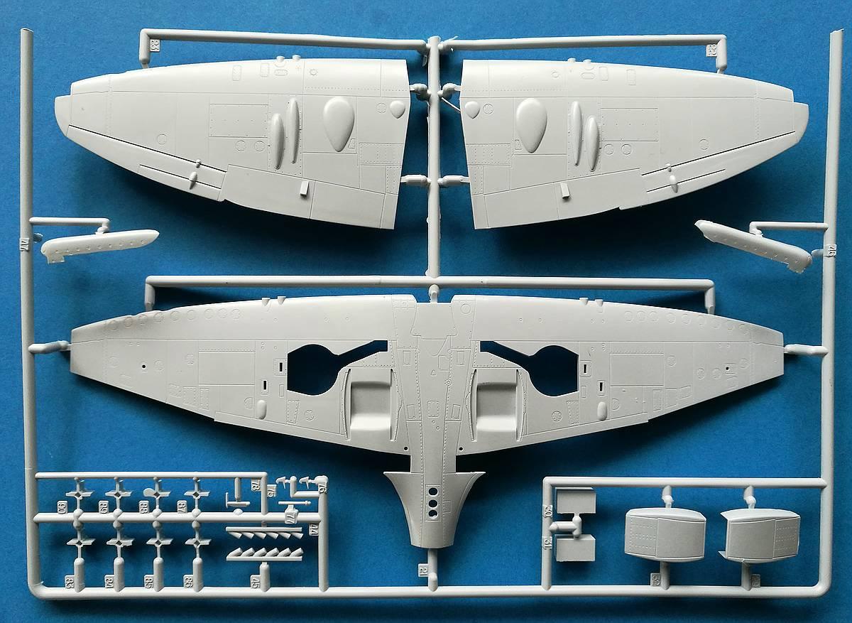 Airfix-A06101A-Spitfire-F.-Mk.-22-und-24-34 Spitfire F. Mk. 22/24 in 1.48 von Airfix A06101A