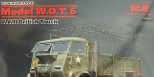 Model W.O.T. 6 WWII British Truck 1:35 ICM (#35507)