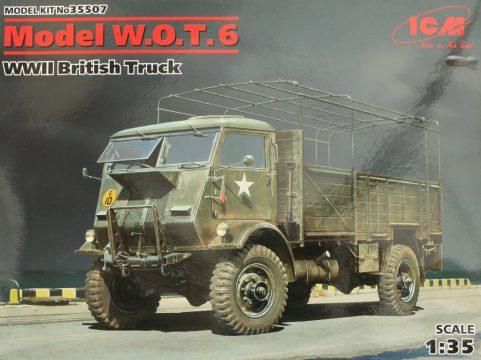 ICM 1//35 Ford Model W.O.T 6 WWII British Truck # 35507