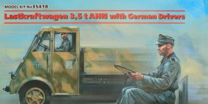 Lastkraftwagen 3.5 t AHN with German Drivers 1:35 ICM (#35418 )