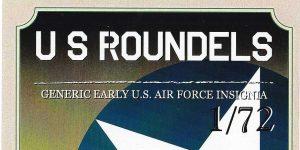 US Roundels (early) in 1:72 von Cranky Crank Decals