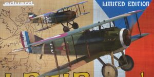 """""""Legie"""" – SPAD XIII Cs. pilotu in 1:48 von Eduard # 11123"""