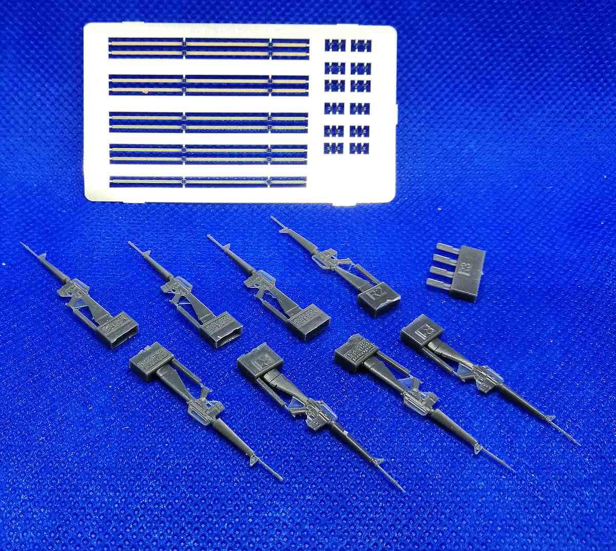 Eduard-635009-M-16-Rifle-3 Vietnam: M16 und AK-47 in 1:35 Eduard # 635009 und 635010