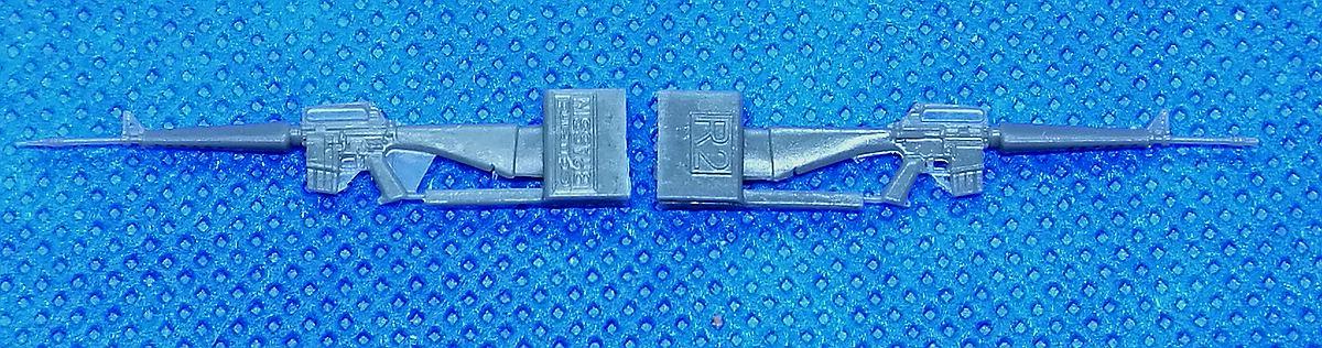 Eduard-635009-M-16-Rifle-5 Vietnam: M16 und AK-47 in 1:35 Eduard # 635009 und 635010