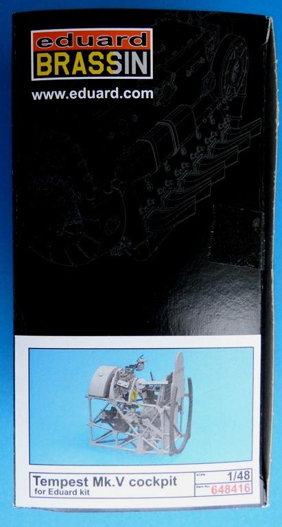 Eduard-648416-Tempest-Mk.-V-Cockpit-1 BRASSIN Cockpit Tempest Mk. V von Eduard # 648416