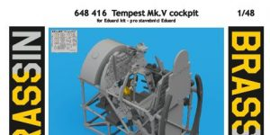 BRASSIN Cockpit Tempest Mk. V von Eduard # 648416