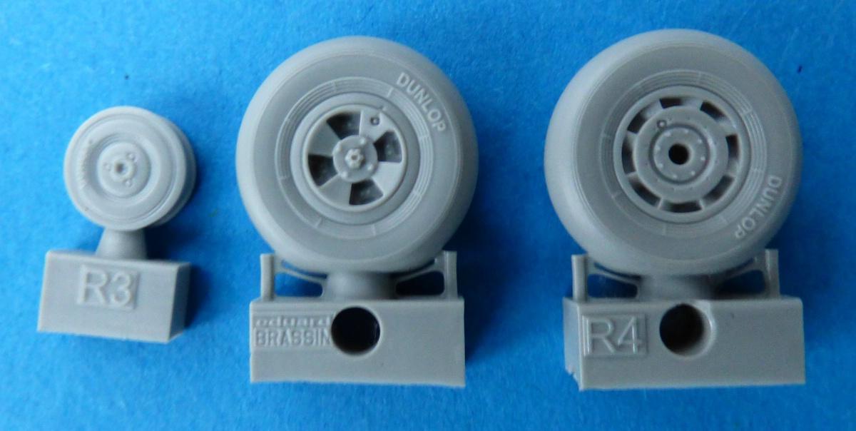 Eduard-648421-Tempest-Mk.-V-wheels-late-2 Tempest Mk.V Brassin in 1:48 von Eduard #648418 #648420 #648421