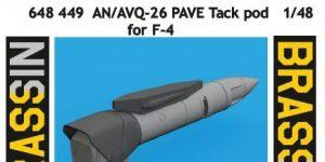 AN/AVQ-26 Pave Tack Pod in 1:48 von Eduard # 648449