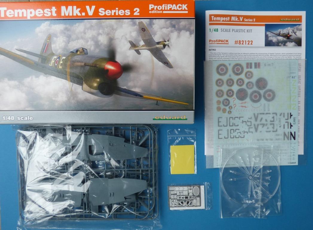 Eduard-82122-Tempest-Mk.-V-Series-2-16 Tempest Mk.V Series 2 Profi-Pack in 1:48 von Eduard #82122