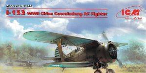 Polikarpow I-153 China Guomindang Fighter in 1:72 von ICM #72076