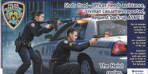 Shots fired! The Heist Series # 1 von MasterBox in 1:24  # MB 24064