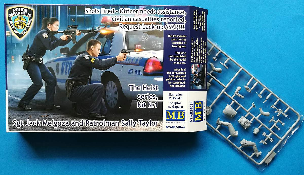 MasterBox-MB-24064-Shots-fired-The-Heist-series-1-3 Shots fired! The Heist Series # 1 von MasterBox in 1:24  # MB 24064