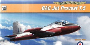 BAC Jet Provost T.5 in 1:144 von MiniWings # 320