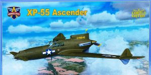 Curtiss XP-55 Ascender in 1:48 von Modelsvit # 4808