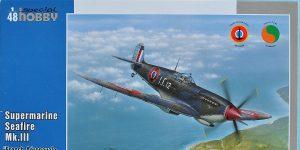 Supermarine Seafire Mk. III in 1:48 von Special Hobby #SH 48138