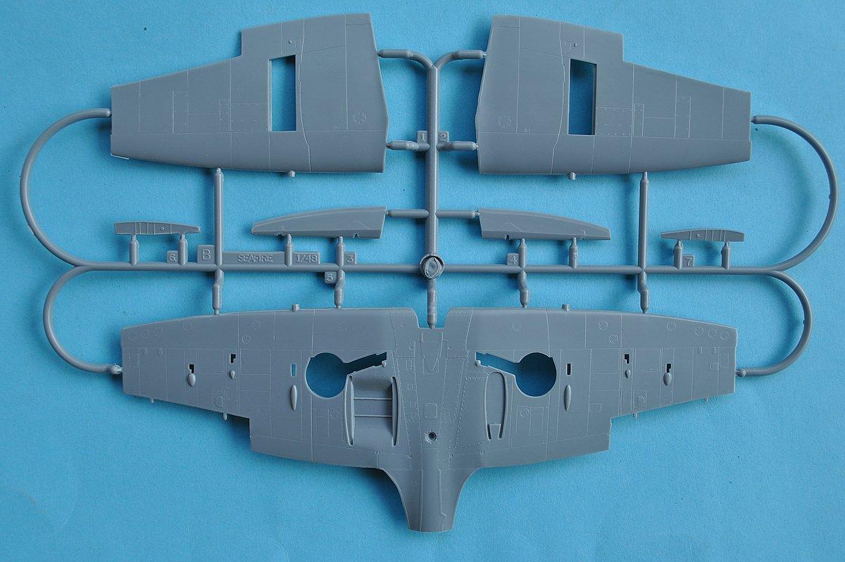 Special-Hobby-SH-48138-Seafire-Mk.-III-25 Supermarine Seafire Mk. III in 1:48 von Special Hobby #SH 48138