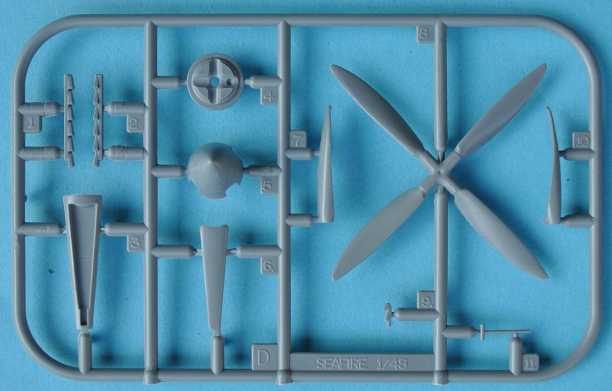 Special-Hobby-SH-48138-Seafire-Mk.-III-6 Supermarine Seafire Mk. III in 1:48 von Special Hobby #SH 48138
